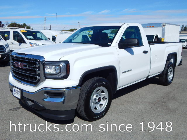 2016 GMC 1500 8' Long Bed Regular Cab Pickup