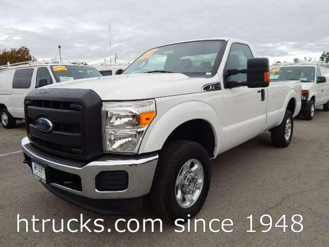 2014 Ford F250 8' Long Bed Regular Cab Pickup - 4 X 4 - XLT