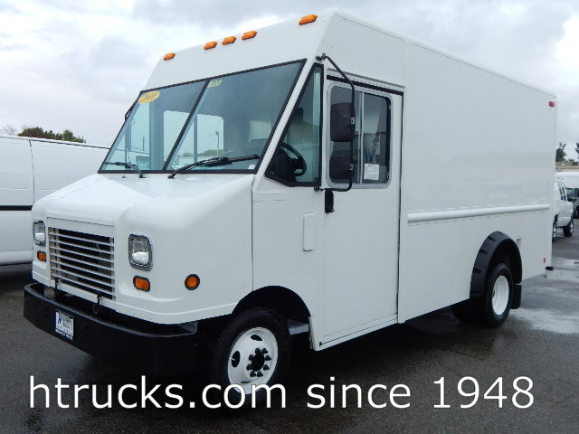 2010 Ford E350 12' Step Van / Walk-In on Dual Rear Wheels - HIGH ROOF