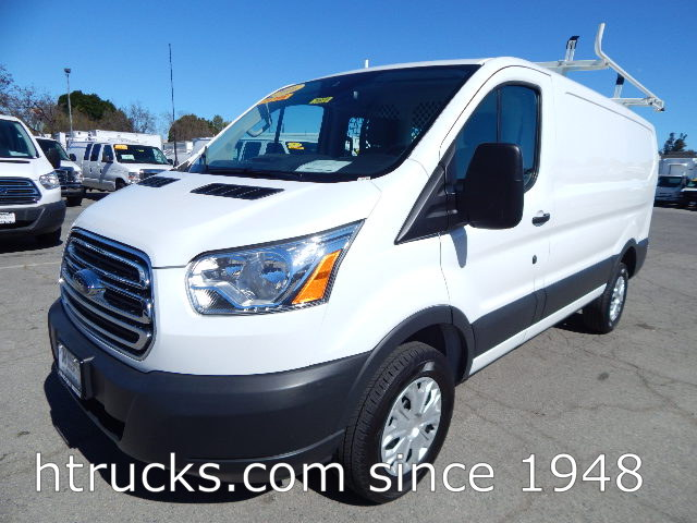 "2016 Ford Transit 250 Cargo Van - LOW ROOF 130"" WB - ROOF RACK & BINS"