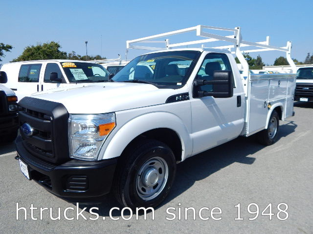 2014 Ford F250 8' Utility with RACK
