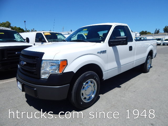 2013 Ford F150 8' Long Bed Regular Cab Pickup