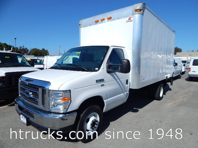 2012 Ford E350 14' Parcel Van on Dual Rear Wheels with LIFTGATE