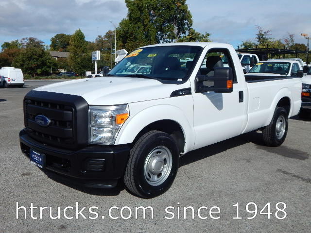 2012 Ford F250 8' Long Bed Regular Cab Pickup